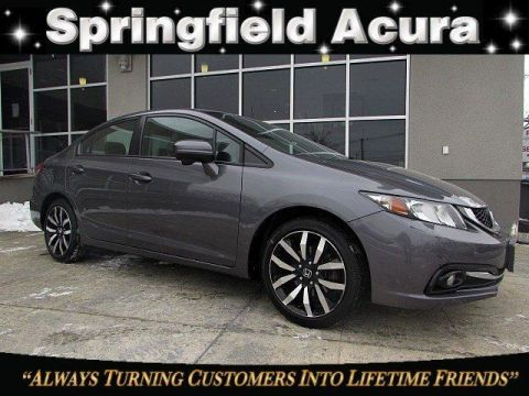 Pre-Owned 2014 Honda Civic 4dr CVT EX-L