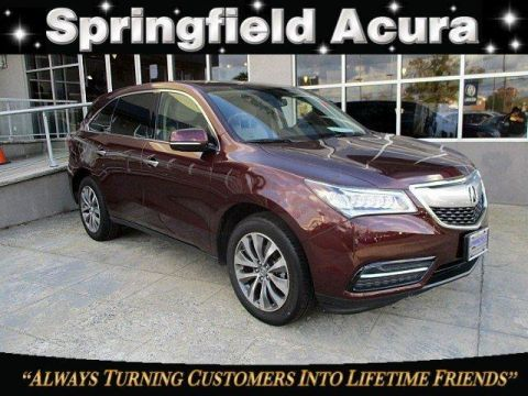 Certified Pre-Owned 2014 Acura MDX SH-AWD with Technology Package