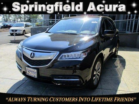 Certified Pre-Owned 2015 Acura MDX SH-AWD with Technology Package