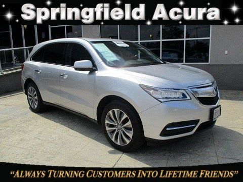 Pre-Owned 2014 Acura MDX SH-AWD 4dr Tech Pkg