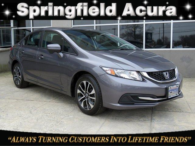 Pre-Owned 2015 Honda Civic 4dr CVT EX
