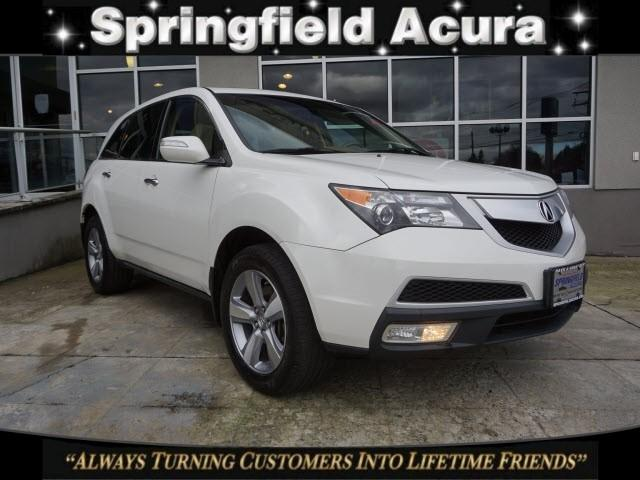 Pre-Owned 2012 Acura MDX AWD 4dr Tech Pkg